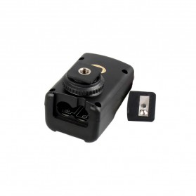 Andoer Remote Wireless Flash Trigger dengan Transmitter & Receiver - PT-04GY - Black - 6