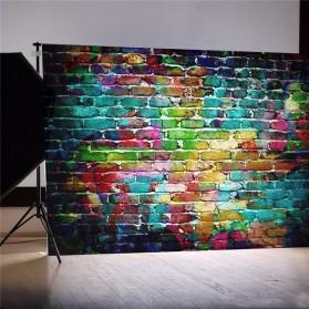 FUWOOD Backdrop Studio Fotografi Unik Model Vintage Board 90 x 150 cm - S-1103 - Brown - 5