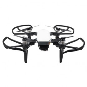 Propellers Guard Ring Protector with Extended Landing Damper for DJI Spark - Black