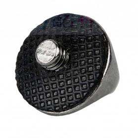 DSLR 1/4 Inch Screw Thread Adapter - YR020 - Black - 2