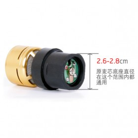 GMark KTV DIY Microphone Dynamic Driver - BIK9 - Black - 3