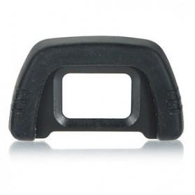 Rubber Eyecup DK-21 for Nikon D100/D200 /D90/D80/D70S/D70/D60/D50/D40 - Black - 3