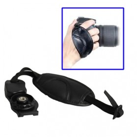 Leather Camera Grip CB-0137 - Black