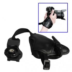 Leather Camera Grip CB-0138 - Black