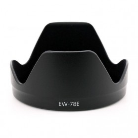 Lens Hood for Canon Camera EW-78E - Black
