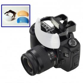Foleto Pop Up 3 Color Flash Diffuser Kamera - F448 - Multi-Color - 2