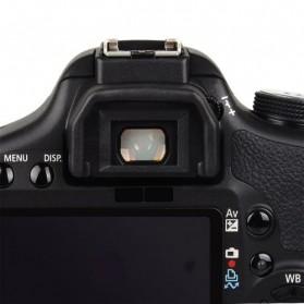 Camera Eye Cup EF for Canon EOS Rebel K2 / EOS Rebel T2 / EOS Rebel TI - Black - 3