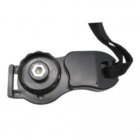 Leather Camera Hand Grip III - Black - 2