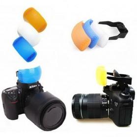 Flash Diffuser Pop-up (White / Blue / Orange / Bracket) - 5