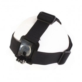 Elastic Adjustable Head Strap with Simple Anti-Slide Glue For Xiaomi Yi / Xiaomi Yi 2 4K / GoPro - Black - 3