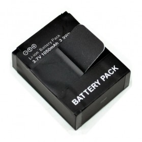 Battery Replacement 1050mAh for GoPro HD Hero 3 - AHDBT-301/201 - Black