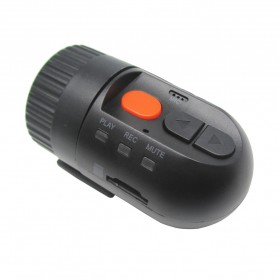 Smallest HD 720P Car DVR Recorder - Black