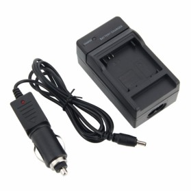 Charger for GoPro Battery with Lighter Plug - AHDBT-201 / 301 - Black