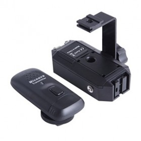 Micnova Wireless Flash Trigger and Transmitter - MQ-FT-4C - Black