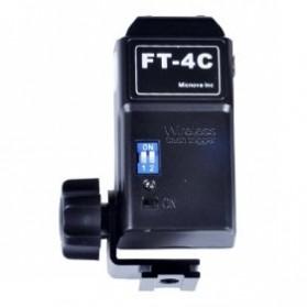 Micnova Wireless Flash Trigger Receiver - MQ-FT-4C-R - Black - 2
