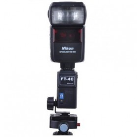 Micnova Wireless Flash Trigger Receiver - MQ-FT-4C-R - Black - 3