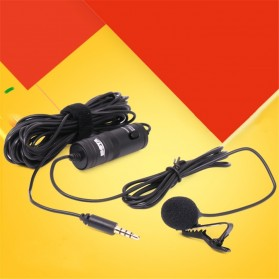 Boya Clip-On Omnidirectional Microphone for Smartphone & DSLR - BY-M1 - Black - 3