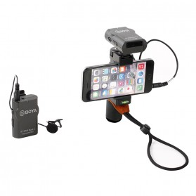Boya Wireless Lavalier Microphone System for Smartphone & DSLR - BY-WM4 MKII - Black - 7