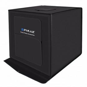 PULUZ Photo Studio Mini Portable dengan LED dan 3 PCS Background Size M - PU5040 - Black - 3