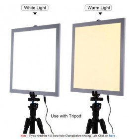 Puluz Lampu Panel LED Photo Studio 1200LM Shadowless - White - 4