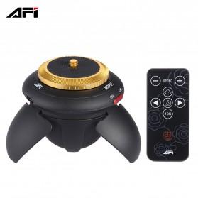AFI Mini Electric Time Lapse Tripod 360 Rotation - MRP01 - Black - 2