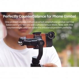 Ulanzi Universal Counterweight Anti-shake for Gimbal Stabilizer - PT-4 - Black - 3