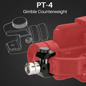 Ulanzi Universal Counterweight Anti-shake for Gimbal Stabilizer - PT-4 - Black - 6