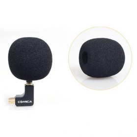 COMICA Microphone Condenser Omnidirectional Ball-shaped for GoPro - CVM-VG05 - Black - 7