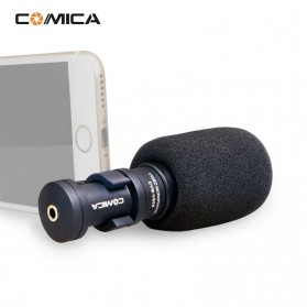 COMICA Microphone Condenser Cardioid for Smartphone - CVM-VS08 - Black - 1