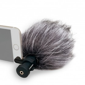 COMICA Microphone Condenser Cardioid for Smartphone - CVM-VS08 - Black - 2