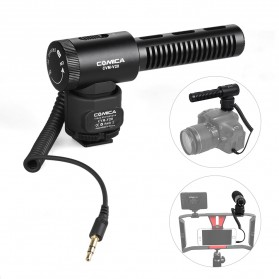 COMICA Shotgun Microphone Condenser Super Cardioid - CVM-V20 - Black - 3