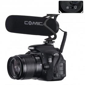 COMICA Shotgun Microphone Condenser Super Cardioid - CVM-V30 LITE - Black