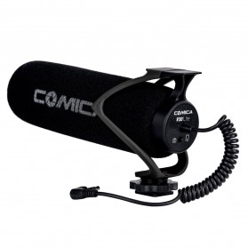 COMICA Shotgun Microphone Condenser Super Cardioid - CVM-V30 LITE - Black - 3