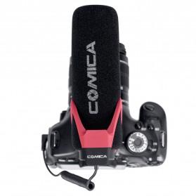 COMICA Shotgun Microphone Condenser Super Cardioid - CVM-V30 LITE - Black - 4