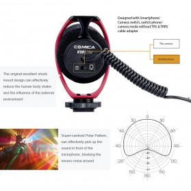 COMICA Shotgun Microphone Condenser Super Cardioid - CVM-V30 LITE - Black - 7