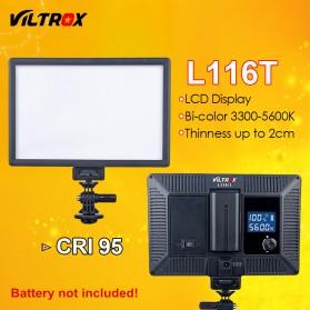 Viltrox Ultra Thin Lightning Kamera Dimmable DSLR Light Lamp - L116T - Black