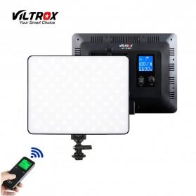 Viltrox Lampu Studio Bi-color Dimmable LED Panel Lighting Kit 75 Inch 3PCS - VL-200T - Black - 2
