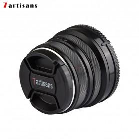 7Artisans 25mm F1.8 Manual Focus Prime Fixed Lens for Macro 4/3 - Black - 7