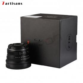 7Artisans 25mm F1.8 Manual Focus Prime Fixed Lens for Macro 4/3 - Black - 8