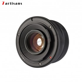 7Artisans 25mm F1.8 Manual Focus Prime Fixed Lens for Nikon E Mount - Black - 4