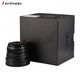 7Artisans 25mm F1.8 Manual Focus Prime Fixed Lens for Nikon E Mount - Black - 8