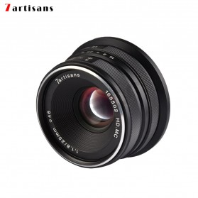 7Artisans 25mm F1.8 Manual Focus Prime Fixed Lens for Canon - Black - 3