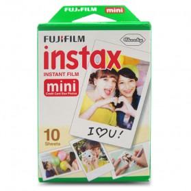 Fujifilm Refill Paper Kertas Foto Instax Mini Tipe Polos Isi 10 - White