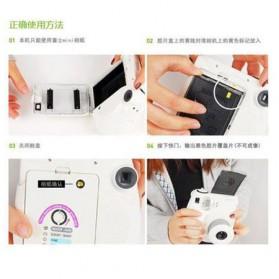 Fujifilm Refill Paper Kertas Foto Instax Mini Tipe Polos Isi 10 - White - 3