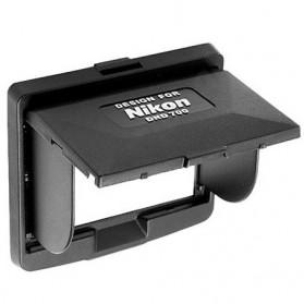 Eye Cup Kamera - LCD Hood Screen Protector for Nikon DND 700 - Black