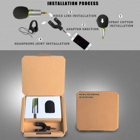 Yanmai Mini Adjustable Microphone 3.5mm - R1 - Black/Silver - 6
