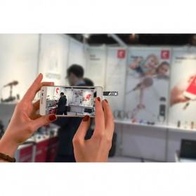Yanmai Mini Adjustable Microphone 3.5mm - R1 - Black/Silver - 8