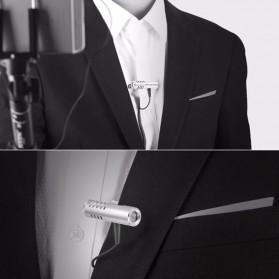 Yanmai Mini Clip-on Omnidirectional Microphone 3.5mm - R993 - Silver - 10