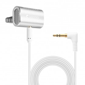 Yanmai Lavalier Mini Clip-on Microphone 3.5mm - R977 - Silver - 1