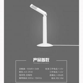 Yanmai Studio Stereo Recording Microphone 120 Degree Rotation Portable 3.5mm - SF-950 - White - 3